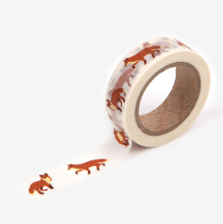 Winter Fox Washi Tape - 50