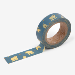 Friendly Bear Washi Tape