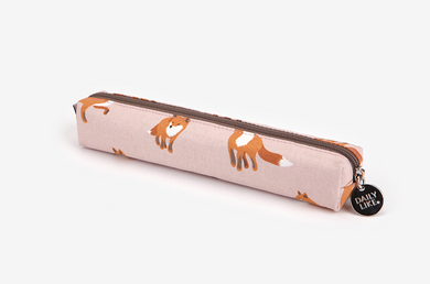 Winter Fox Pen Case
