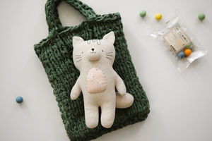 Terry Cloth Cat DIY Kit