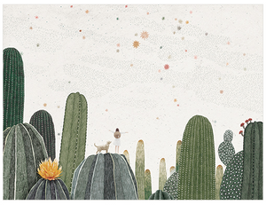 Tiny Traveller - Cactus Patch Postcard