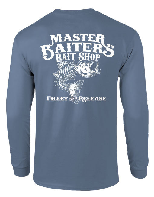 Fillet & Release - Long Sleeve - Stormy Grey