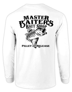 Fillet & Release - Long Sleeve - White