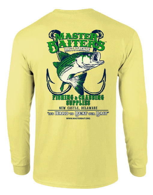 Beat Our Bait - Long Sleeve - Yellow