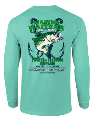 Beat Our Bait - Long Sleeve - Turquoise