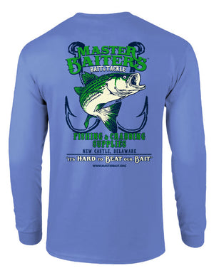 Beat Our Bait - Long Sleeve - Blue