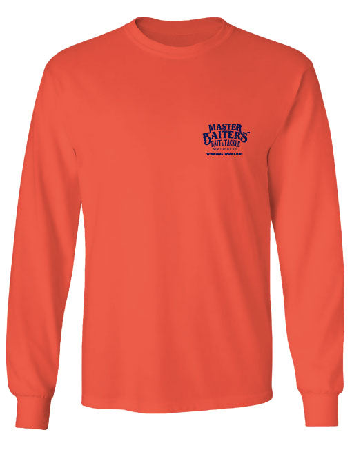 Beat Our Bait - Long Sleeve - Salmon
