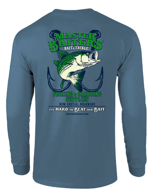 Beat Our Bait - Long Sleeve - Stormy Full Color