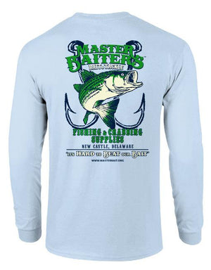Beat Our Bait - Performance Long Sleeve - Ocean Blue
