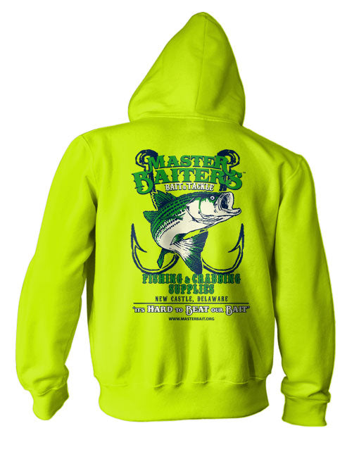 Master Pullover Hoodie - Safety Green