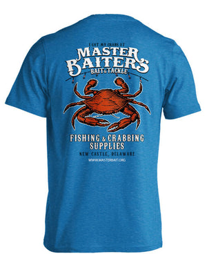 Crabbing Supplies - T Shirt - Bluebird
