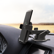 Load image into Gallery viewer, iOttie Easy One Touch 4 Wireless Qi Fast Charge Dash Windshield Car Mount Holder
