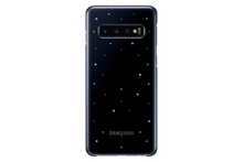 Load image into Gallery viewer, Samsung Galaxy S10 Slim LED Back Cover Case - Black