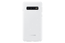 Load image into Gallery viewer, Samsung Galaxy S10 Slim LED Back Cover Case - White