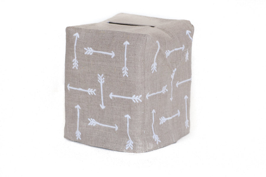 Arrows Tissue Box Cover