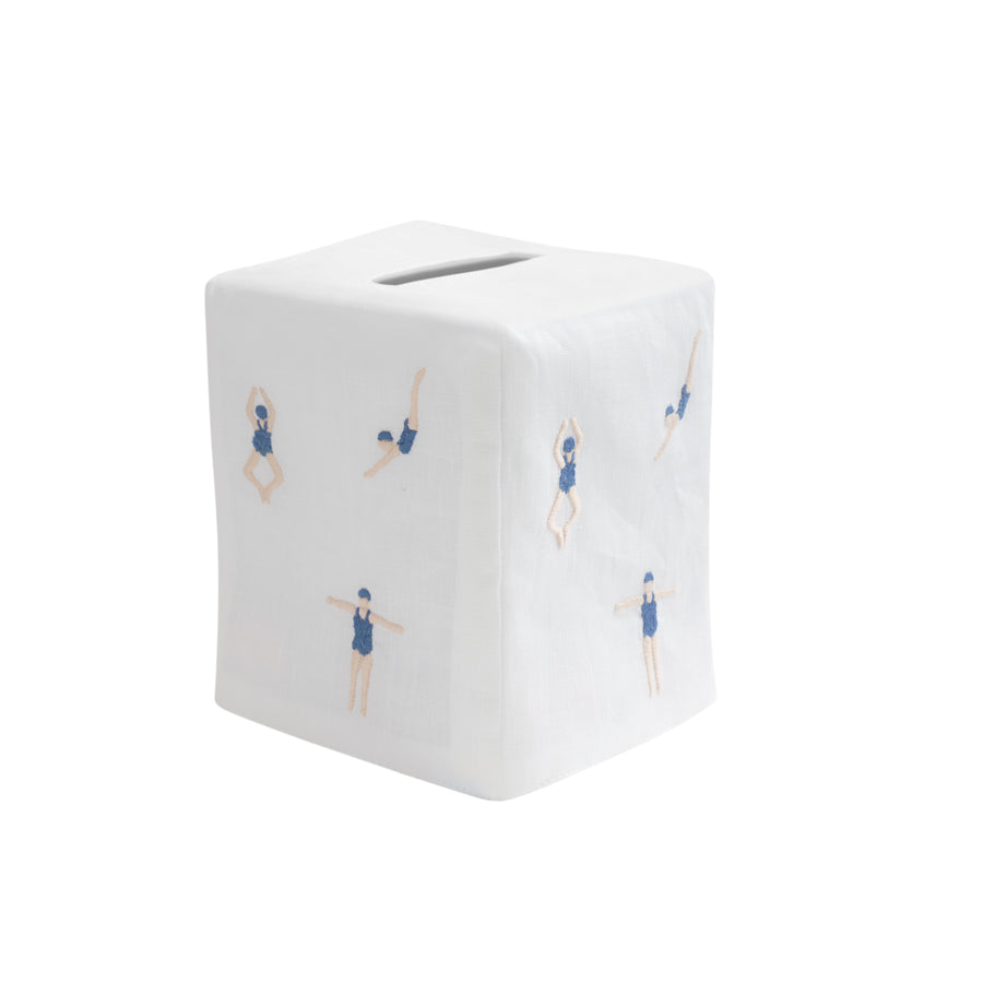 Freestyle Swim Tissue Box Cover