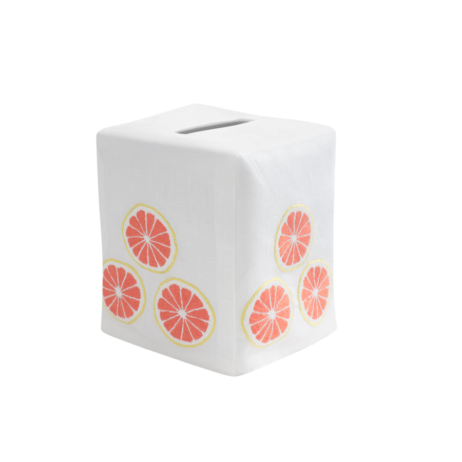 Grapefruit Tissue Box Cover