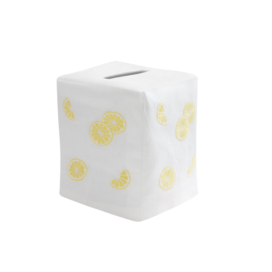 Lemon Slice Tissue Box Cover