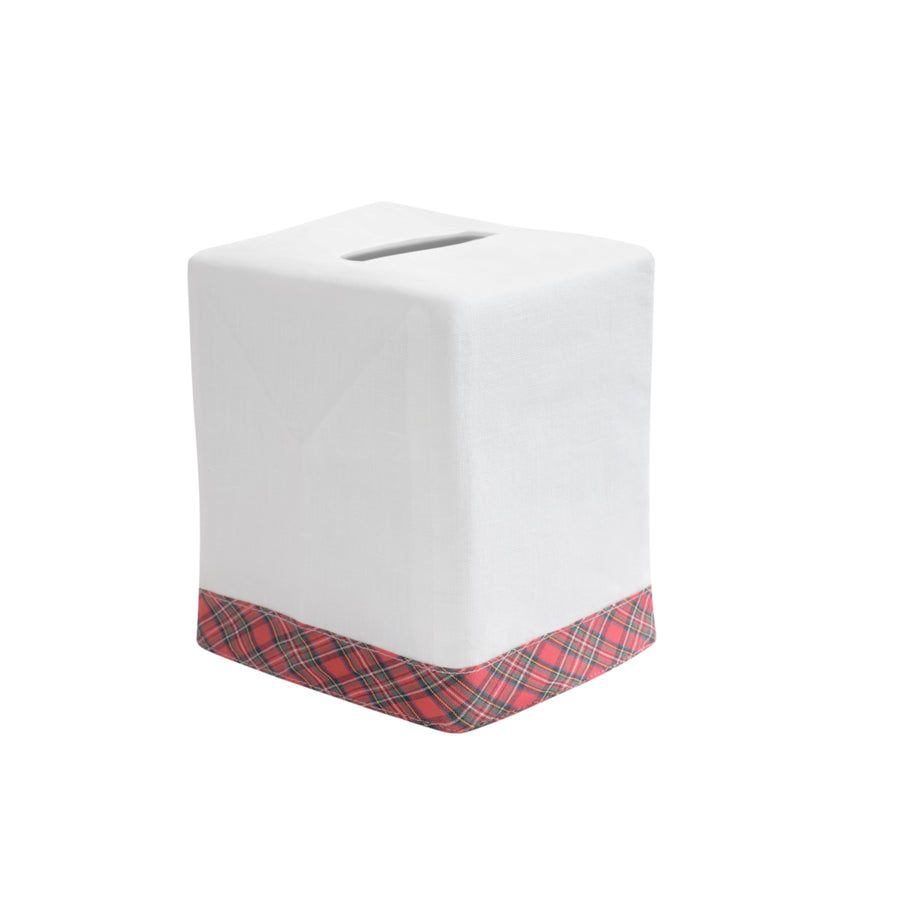 Tartan Plaid Tip Tissue Box Cover