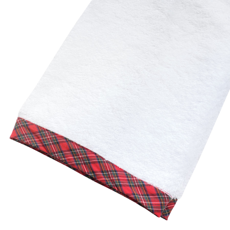 Tartan Plaid Terry Towel