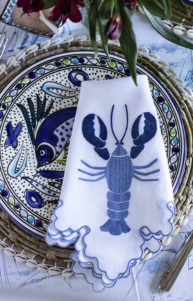 July Lobster Napkin