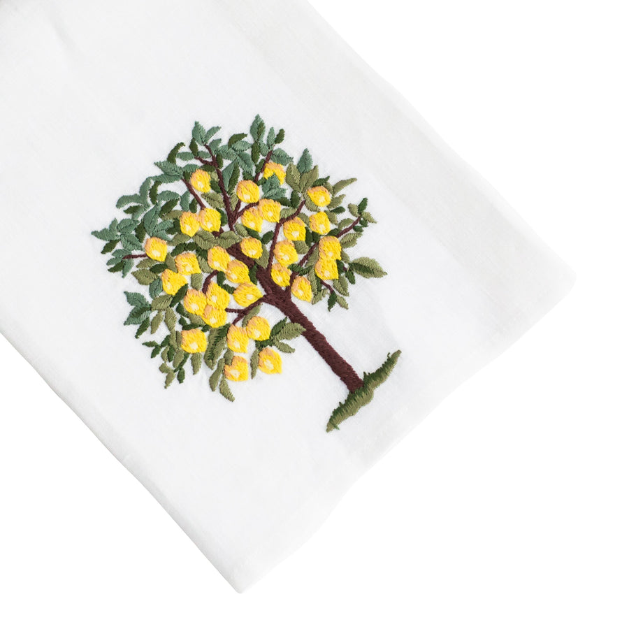Lemon Tree Tip Towel