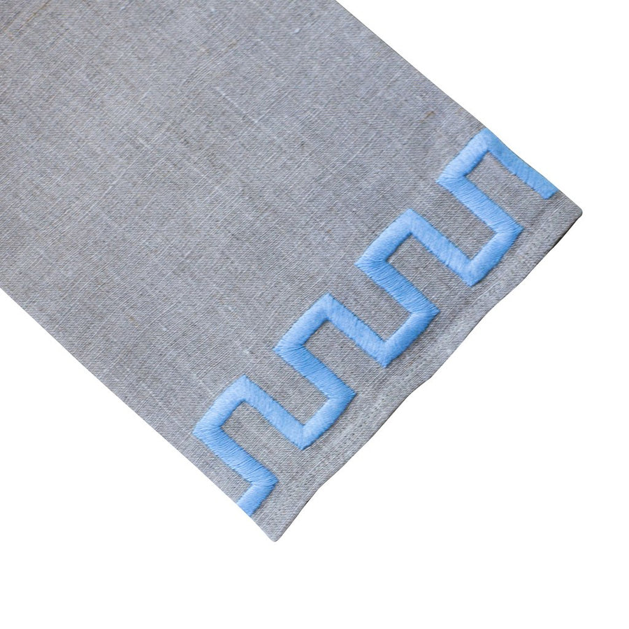 New Greek Key Tip Towel
