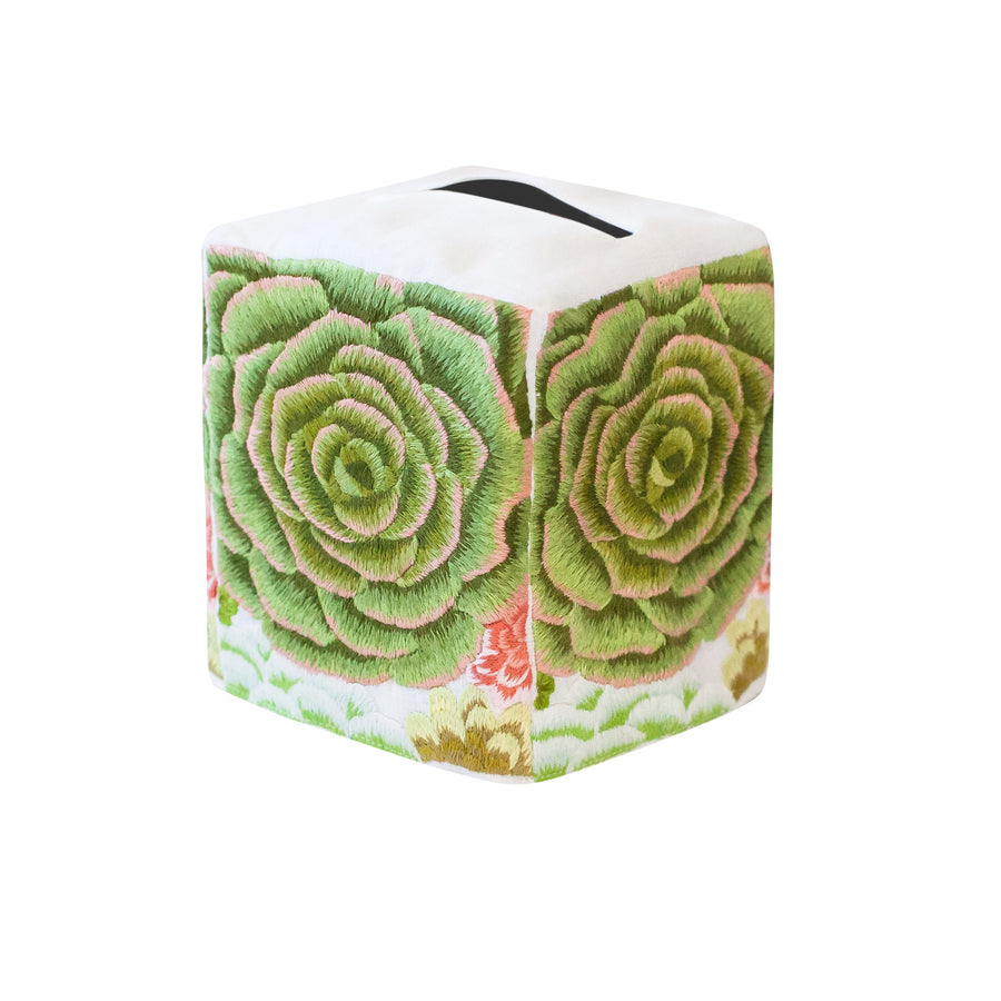 Succulent Tissue Box Cover