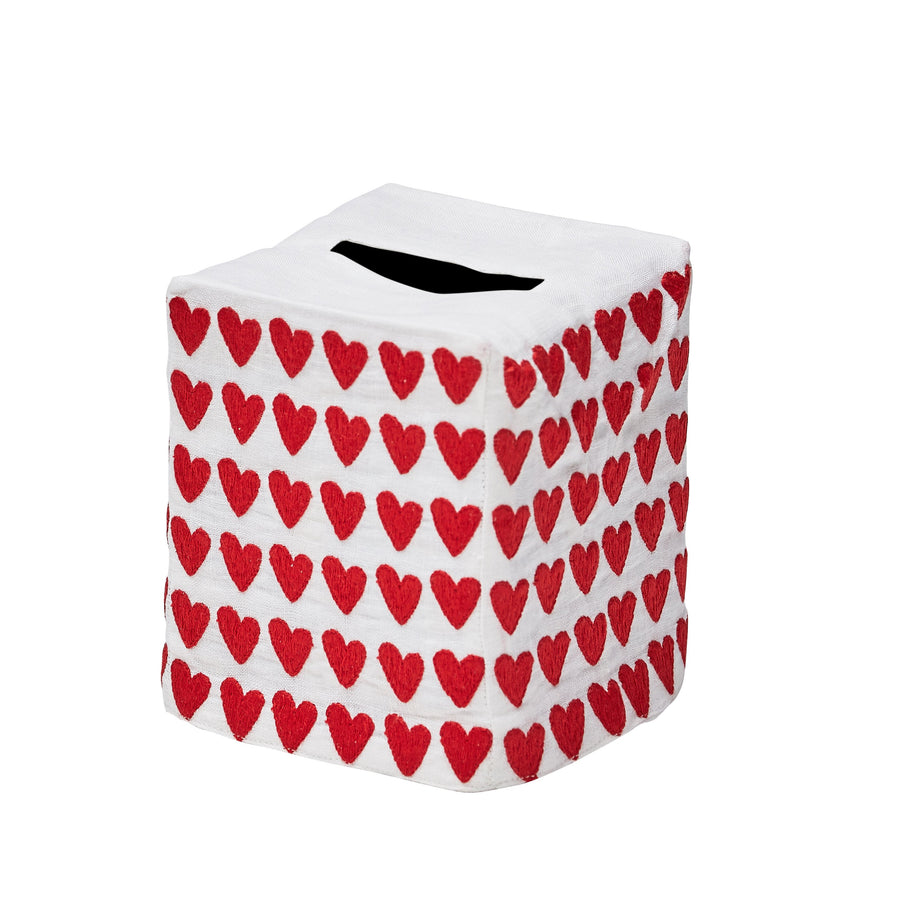 Full Hearted Tissue Box Cover