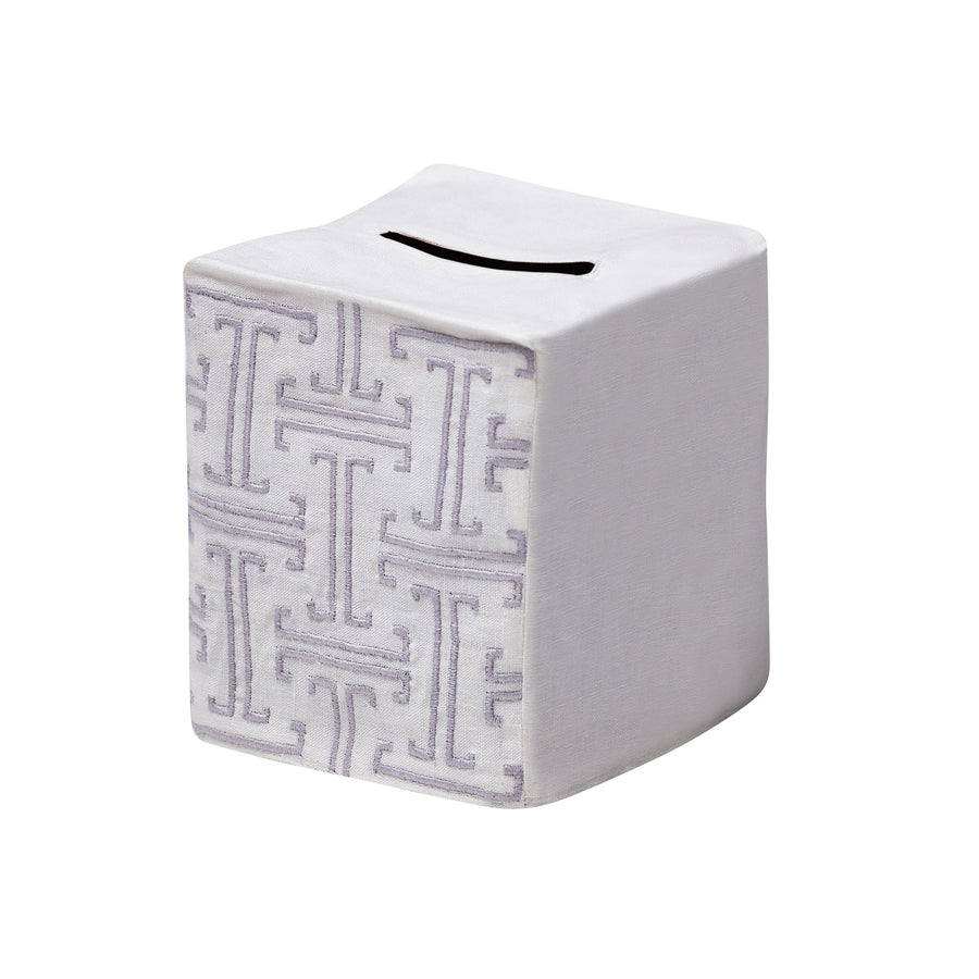 T Design Tissue Box Cover