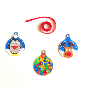 Christmas Festive Bauble Set