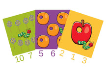 Load image into Gallery viewer, Caterpillar Count n Clip Cards (Age: 3 years+)