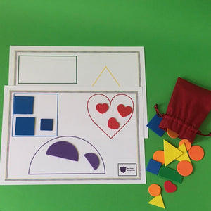 Shape Butterfly Game (Age: 3 years+)