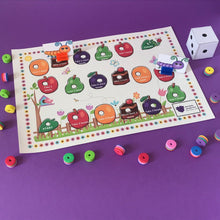 Load image into Gallery viewer, Racing Caterpillars Game (Age: 3 years+)