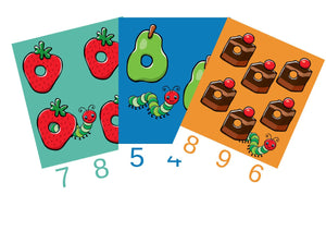 Caterpillar Count n Clip Cards (Age: 3 years+)