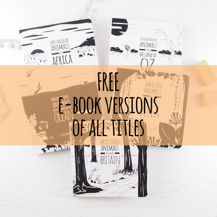 FREE e-books of all of our black and white titles
