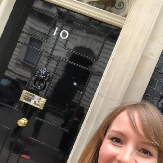 The Day The Little Black & White Book Project went to No 10!