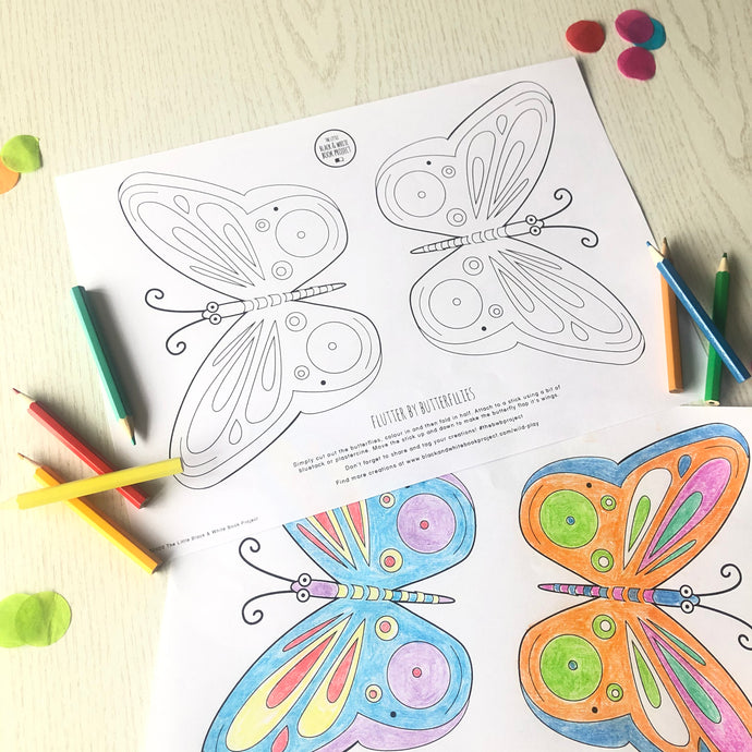 Make your own Flutterby butterflies