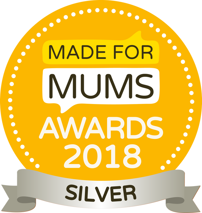 We won! Made For Mums Awards 2018
