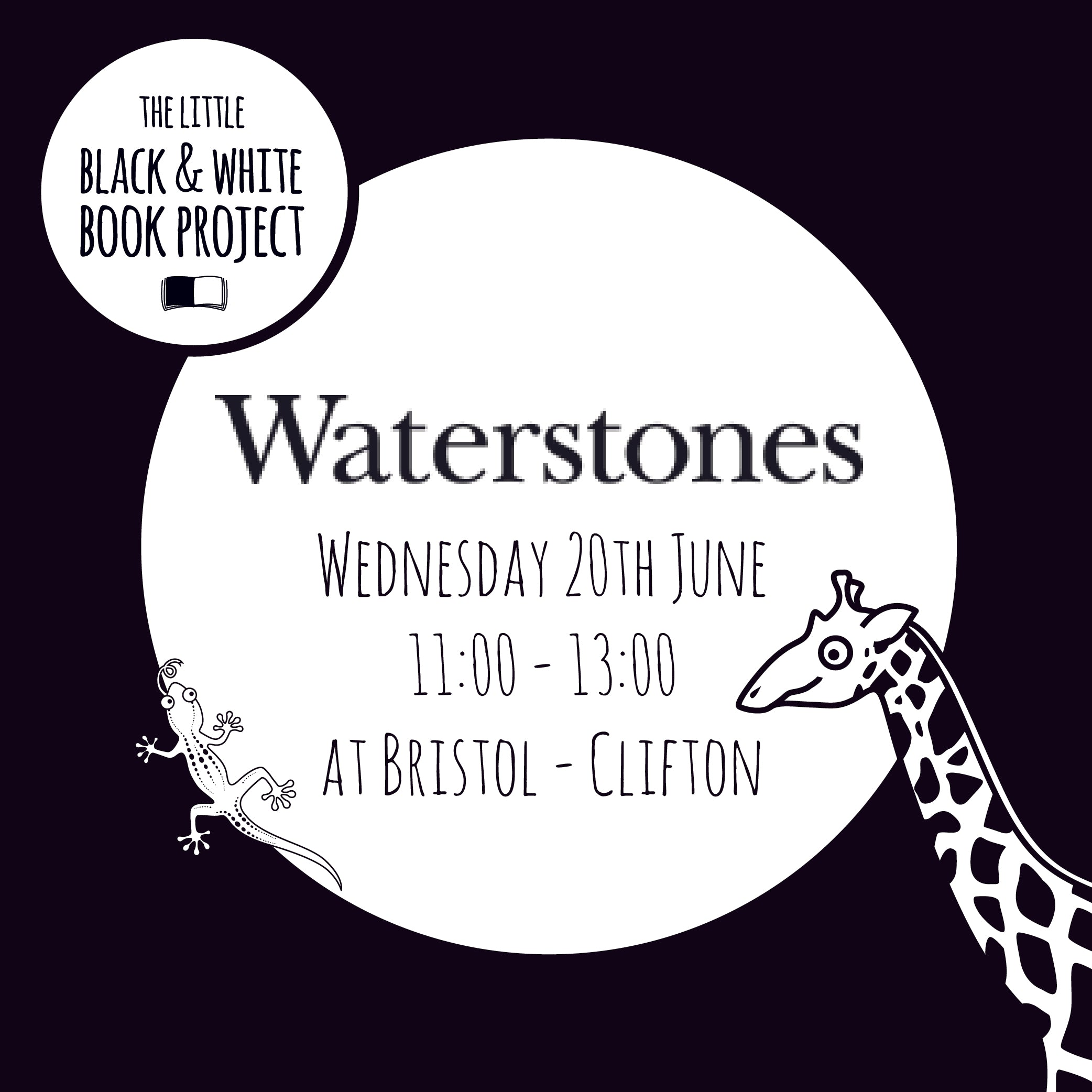 Meet And Greet At Waterstones Clifton Bristol The Little Black