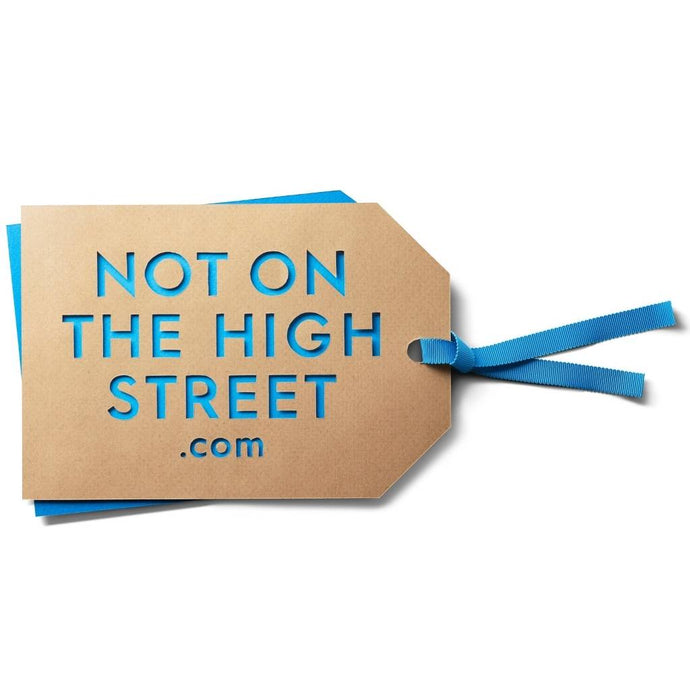 Proud Partners with Not On The High Street