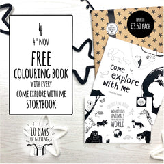 storybook colouring book