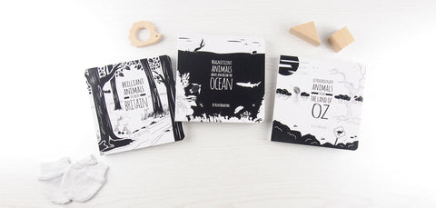 black and white baby books