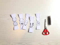 finger puppets cut out
