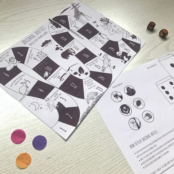 downloadable board game print out