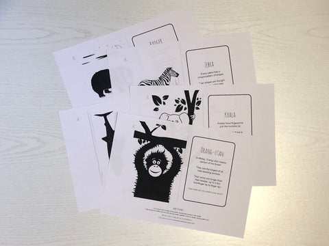 Free flash card print outs