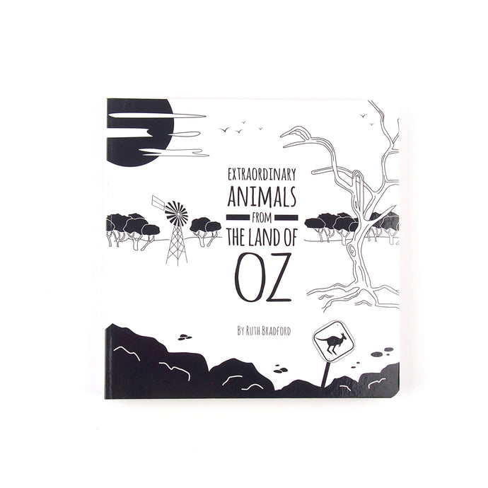 Baby book - Australian Animals - The Little Black & White Book Project