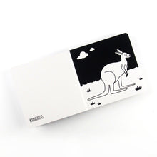 Load image into Gallery viewer, Baby book - Australian Animals - The Little Black & White Book Project