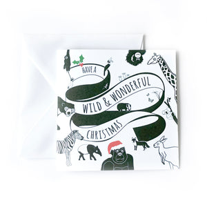 Christmas Card - The Little Black & White Book Project