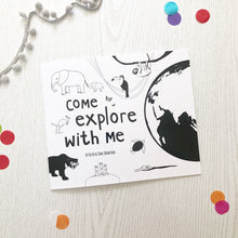 Load image into Gallery viewer, PRE-ORDER Come Explore With Me storybook